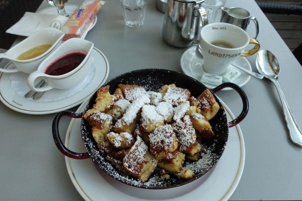Café Landtmannn, Kaiserschmarrn  mit ZwetschKenröster