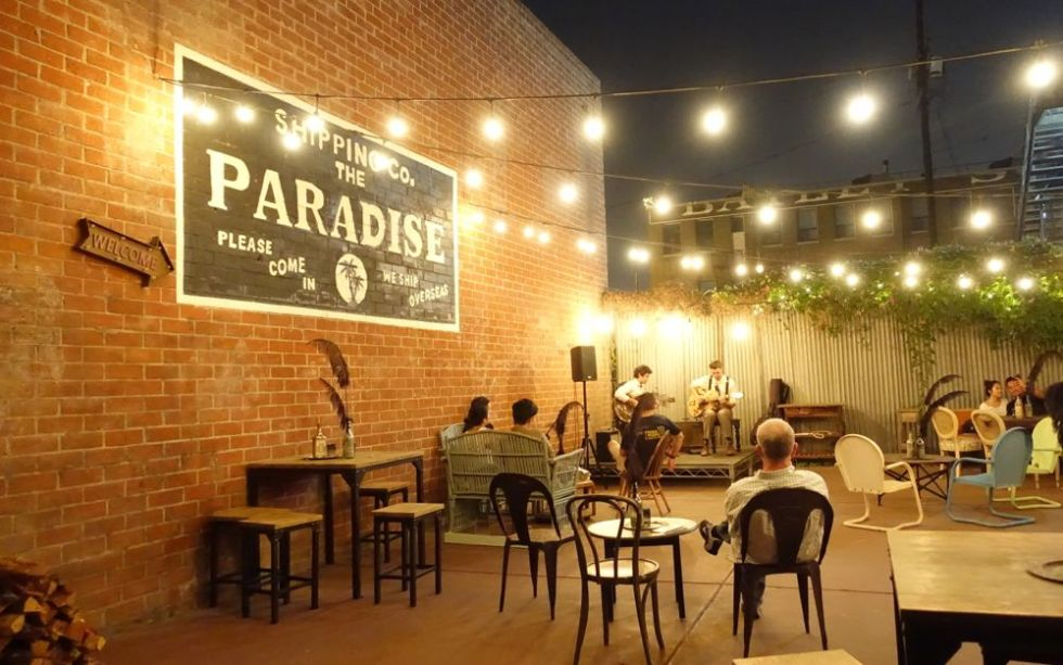 The Day Shall Declare It - Paradise Bar