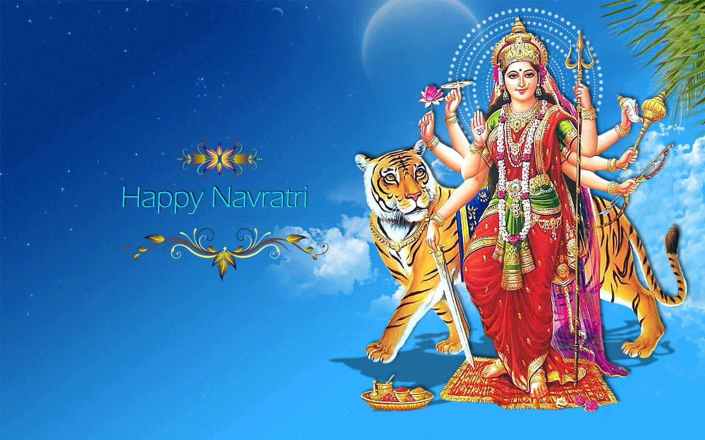 Jai Mata Di 3d Live Wallpaper Happy Navratri Wishes Images Quotes Sms Hd Wallpapers