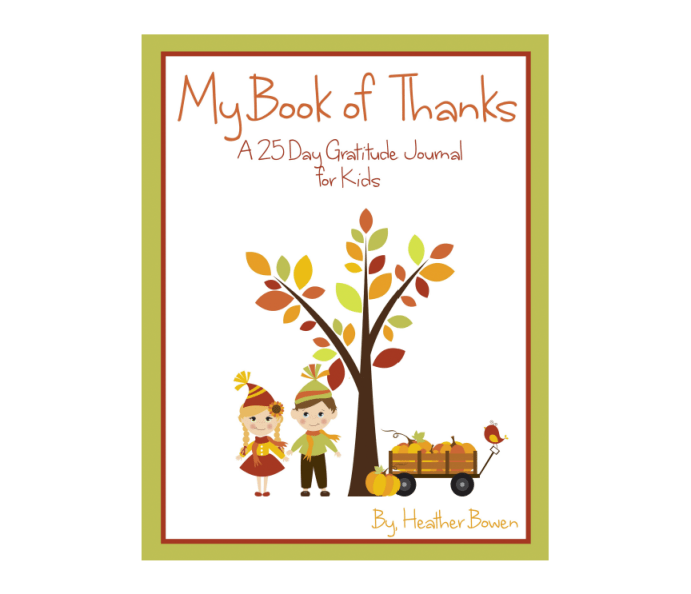 My Book of Thanks