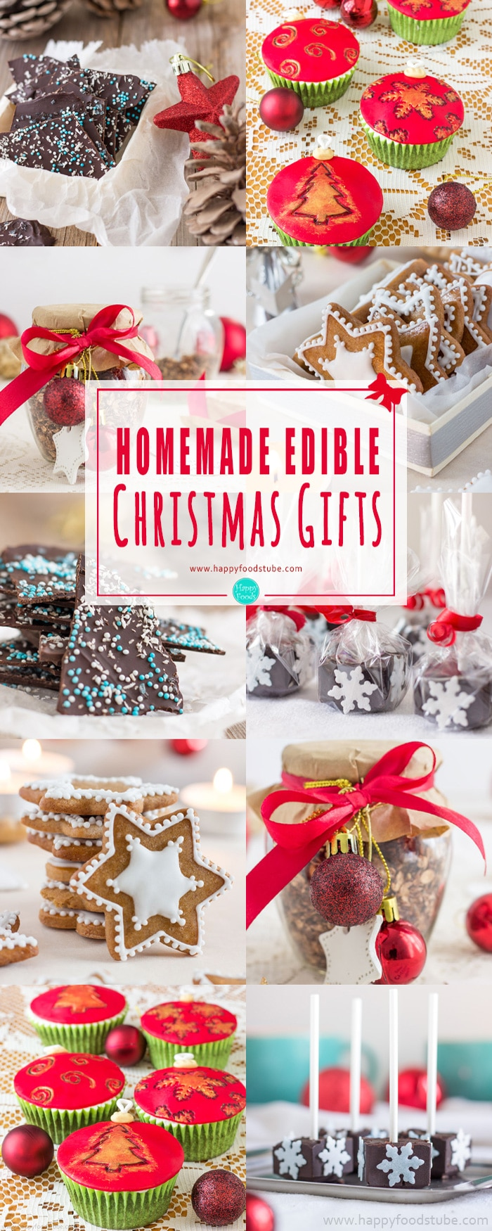 Christmas Homemade Gifts Homemade Edible Christmas Gifts Happy Foods Tube