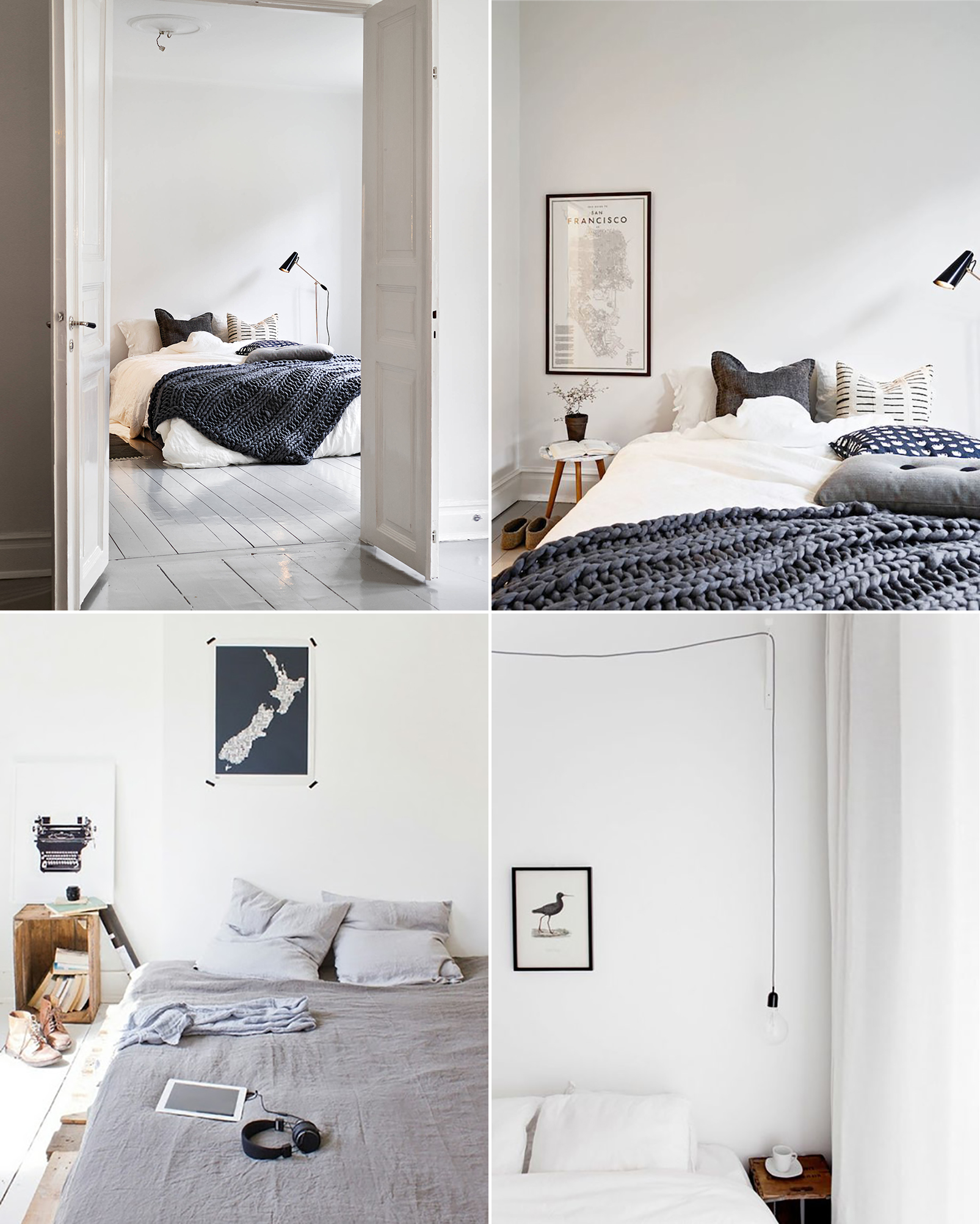 Scandinavian Furniture Bed Friday Favorites Bedroom Inspiration Happy Grey Lucky
