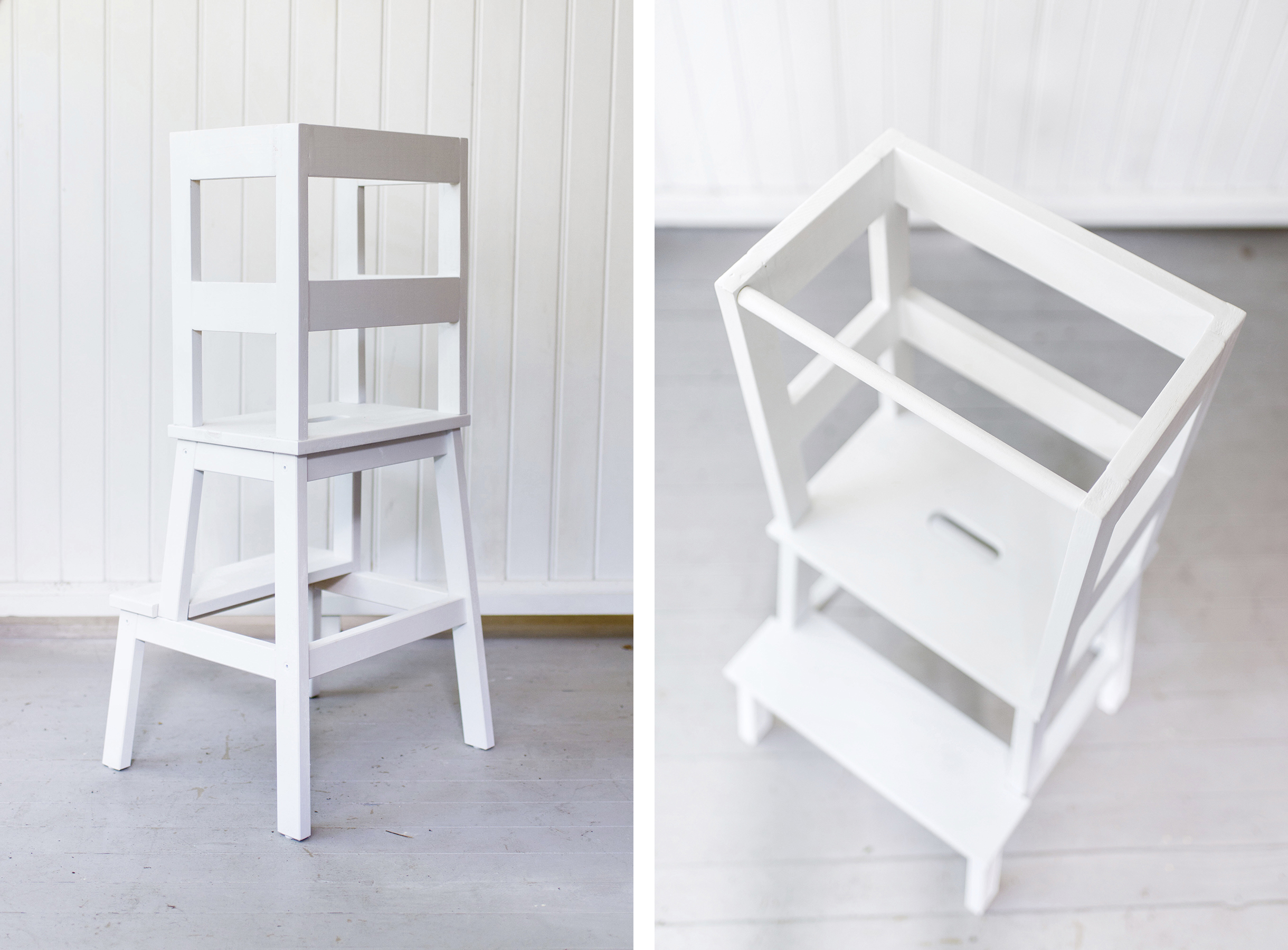 Ikea Hack Toddler Learning Tower Stool