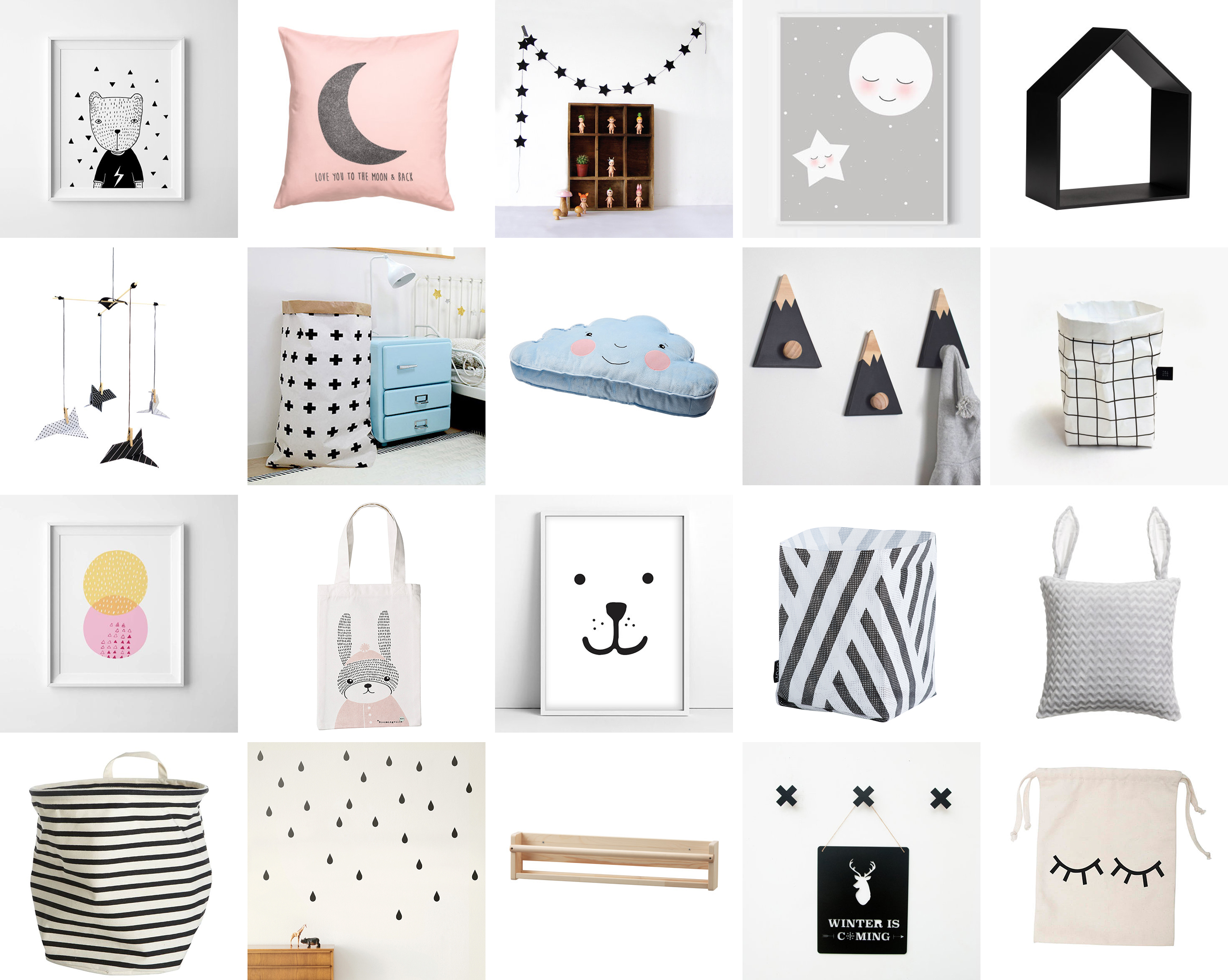 Stuff For Room Decor Favourite Scandinavian Nursery 43 Kids Room Decor Items