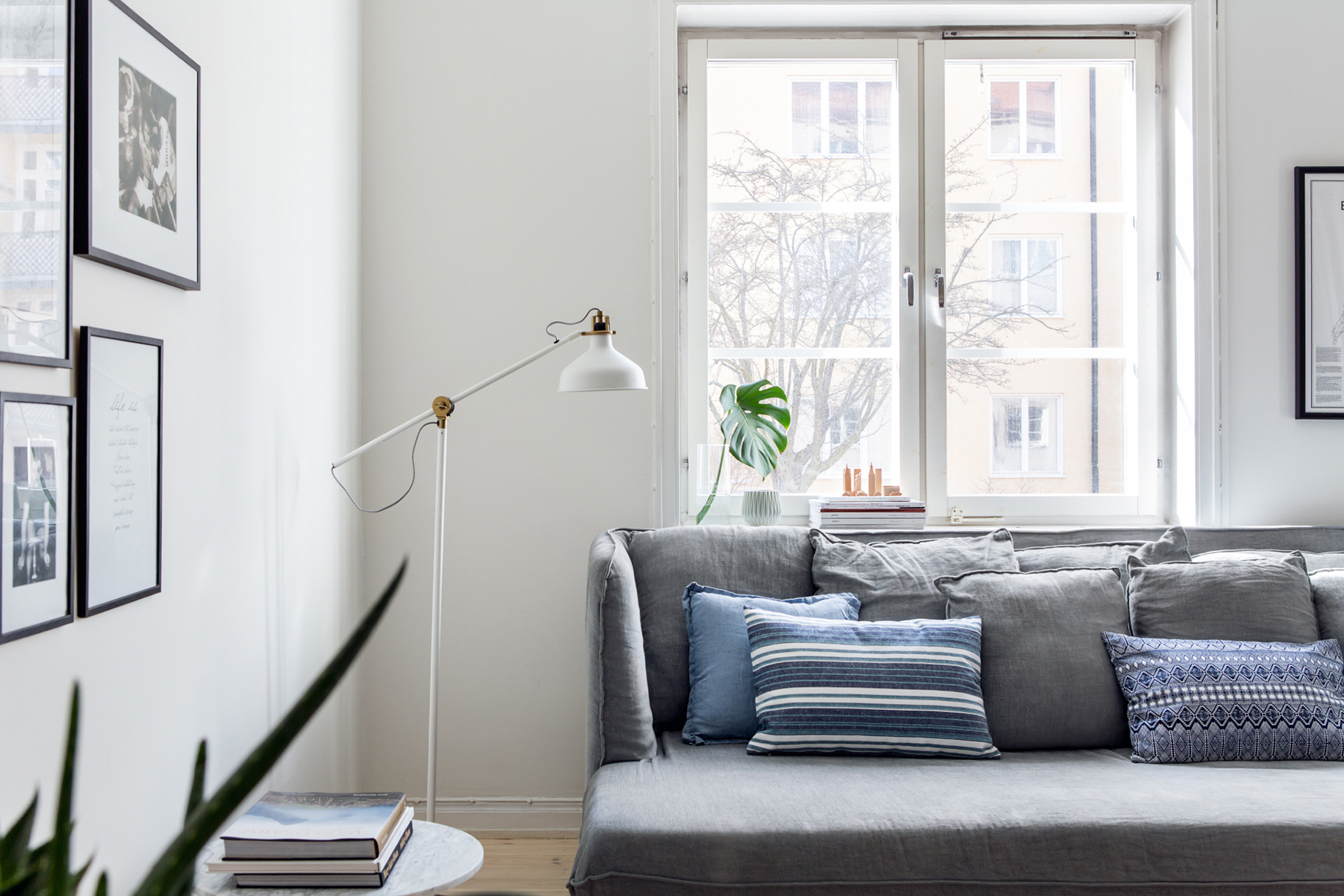 Grey Sofa In Lounge Top 10 Tips For Adding Scandinavian Style To Your Home Happy