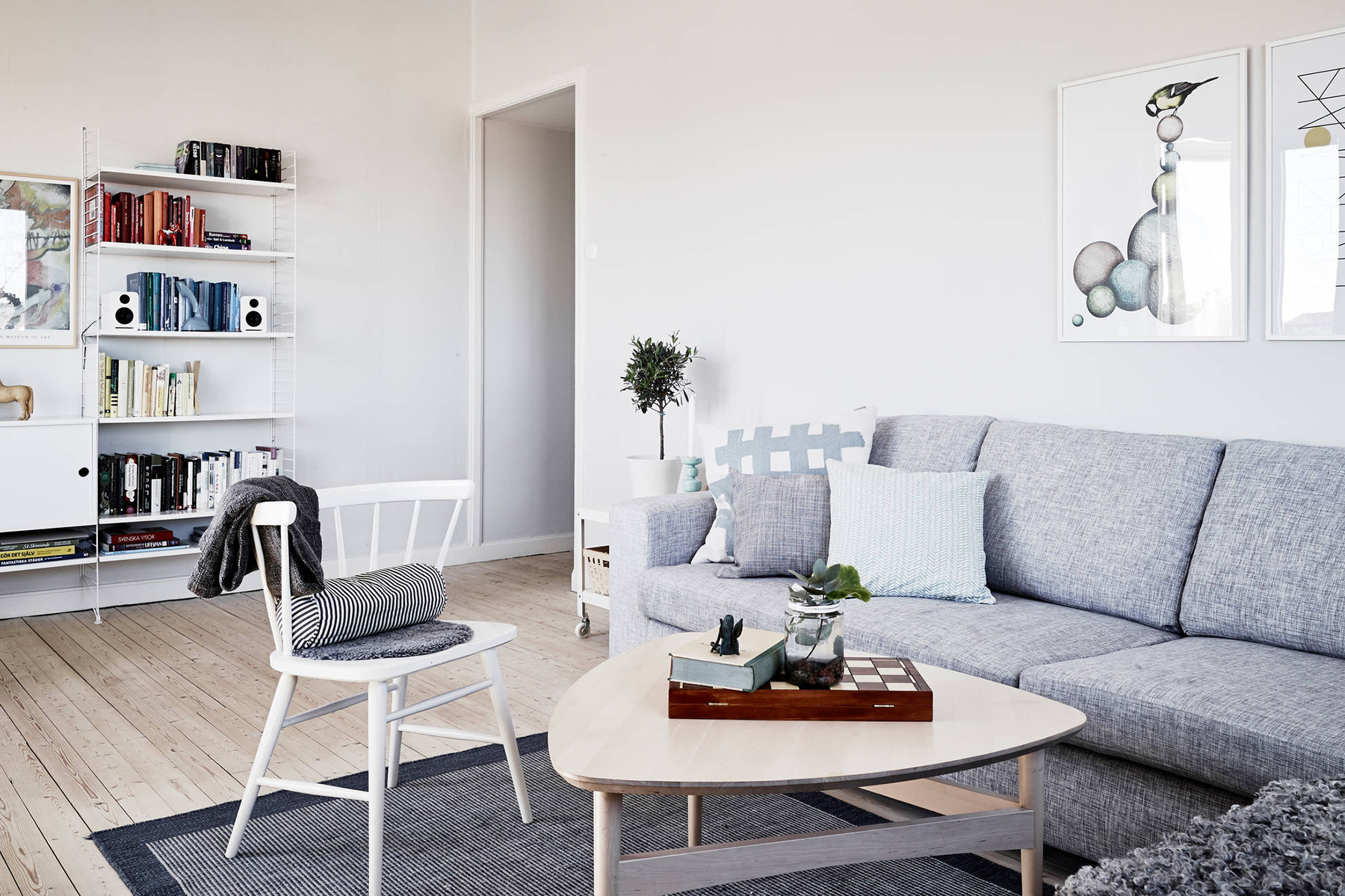 Scandinavian Style Living Room Scandinavian Living Room Inspiration Happy Grey Lucky