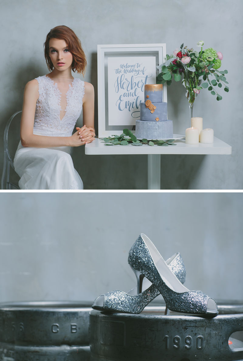 Industrial Regal Raw Regal Industrial Themed Wedding Happy Hands Project