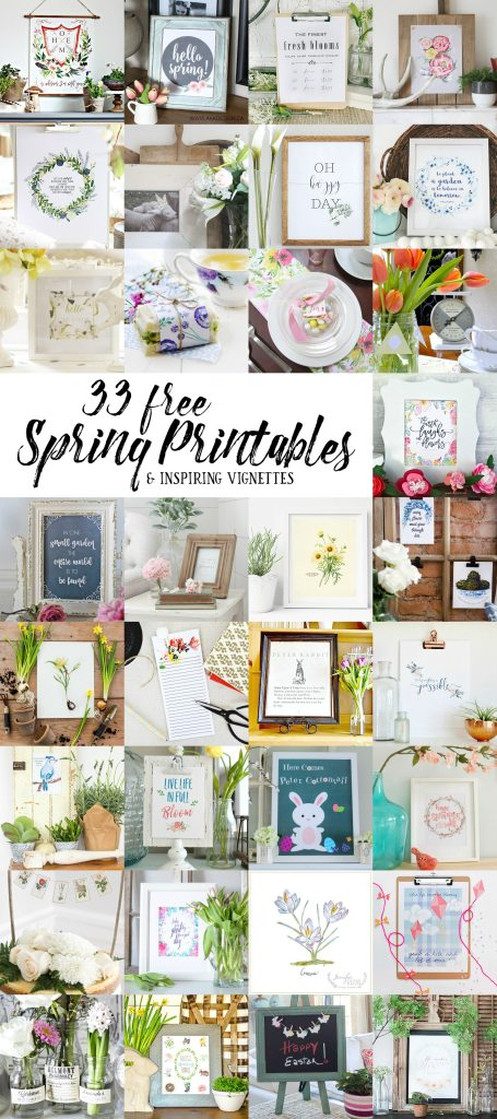 decorating ideas 33 free spring printables
