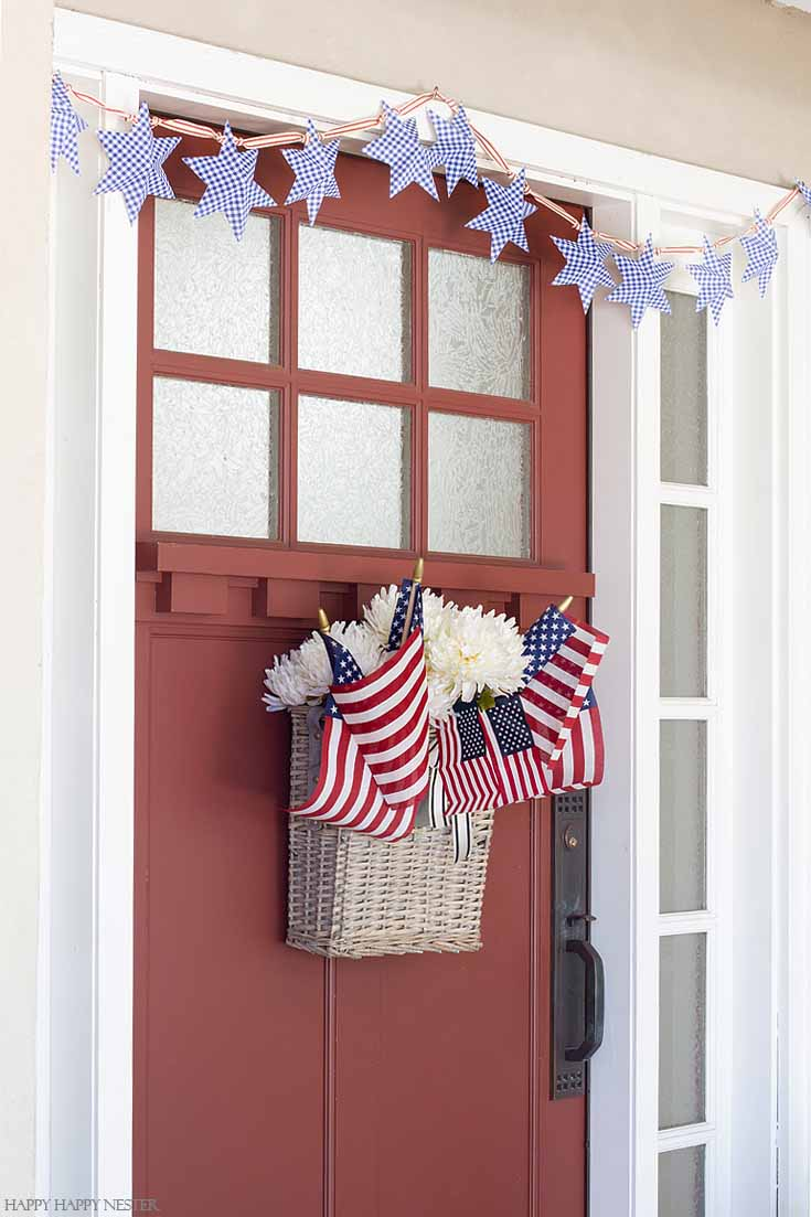 Diy Paper Stars For 4th Of July Garland Happy Happy Nester