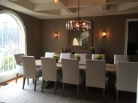 Modern French Country Style Dining Room Remodel - Happy ...