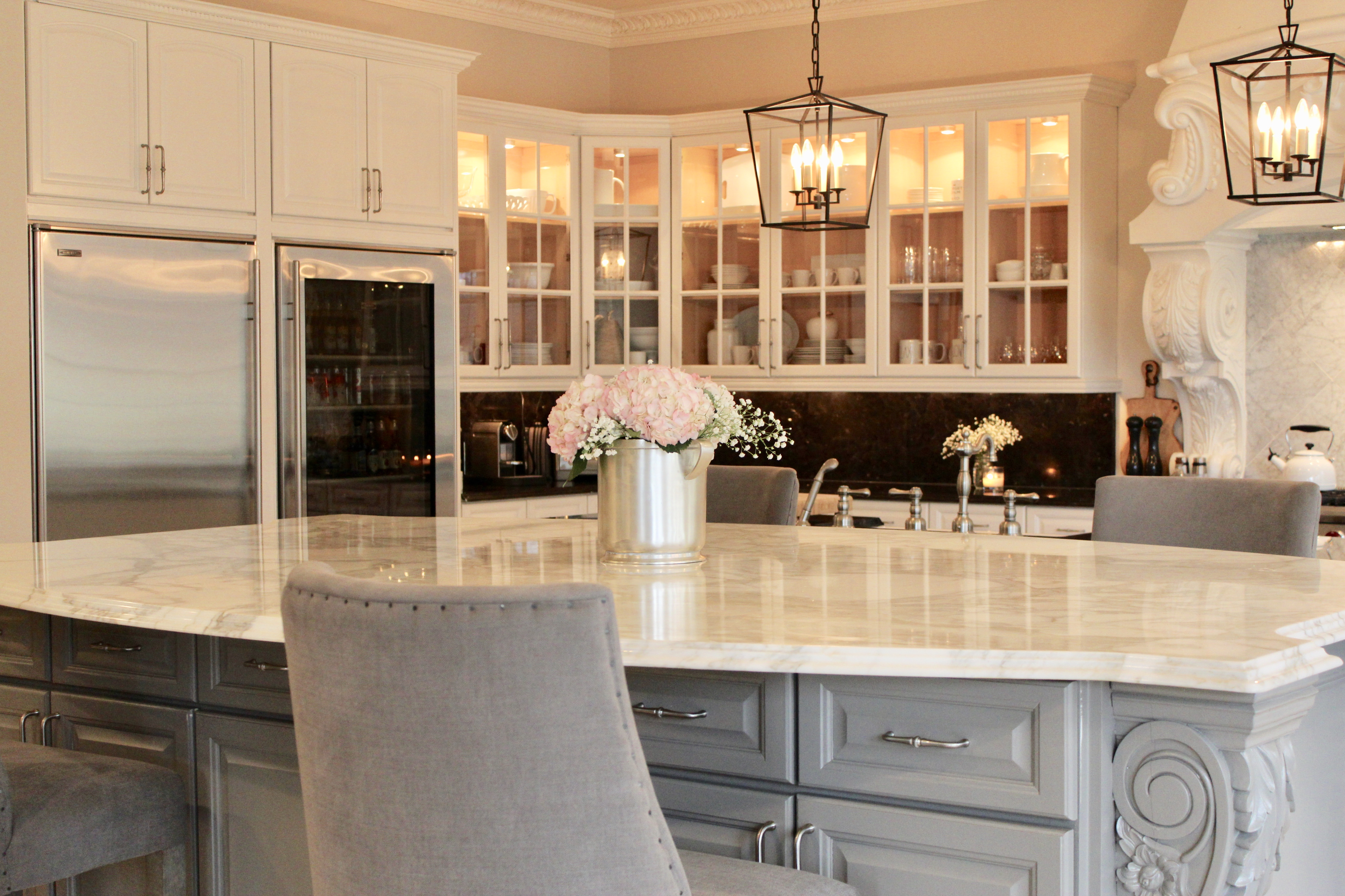 Modern French Country Kitchen Update On Our Modern French Country Kitchen Remodel One Room