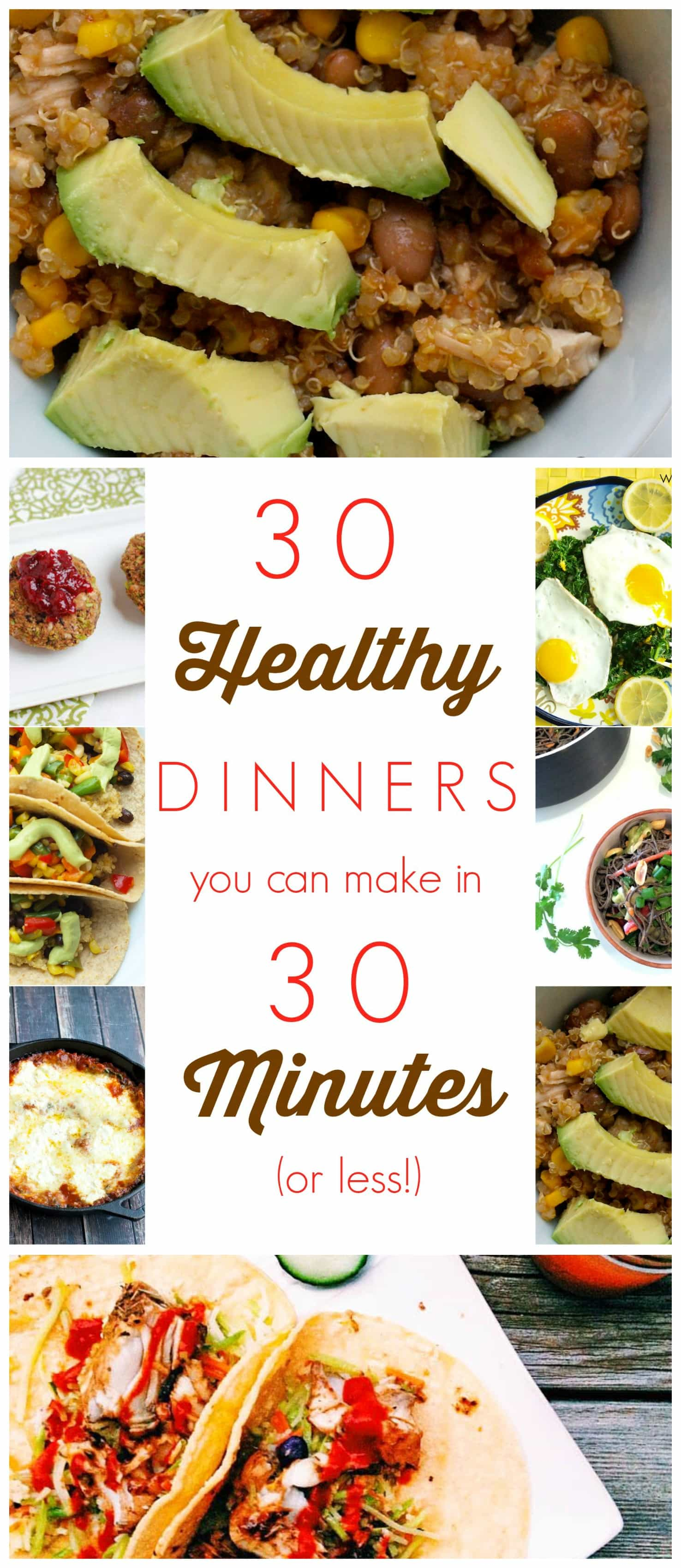30 Minuten Küche Easy Cooking 30 Healthy Dinners You Can Make In 30 Minutes (or Less