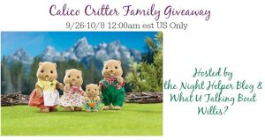 Calico Critter Family Giveaway