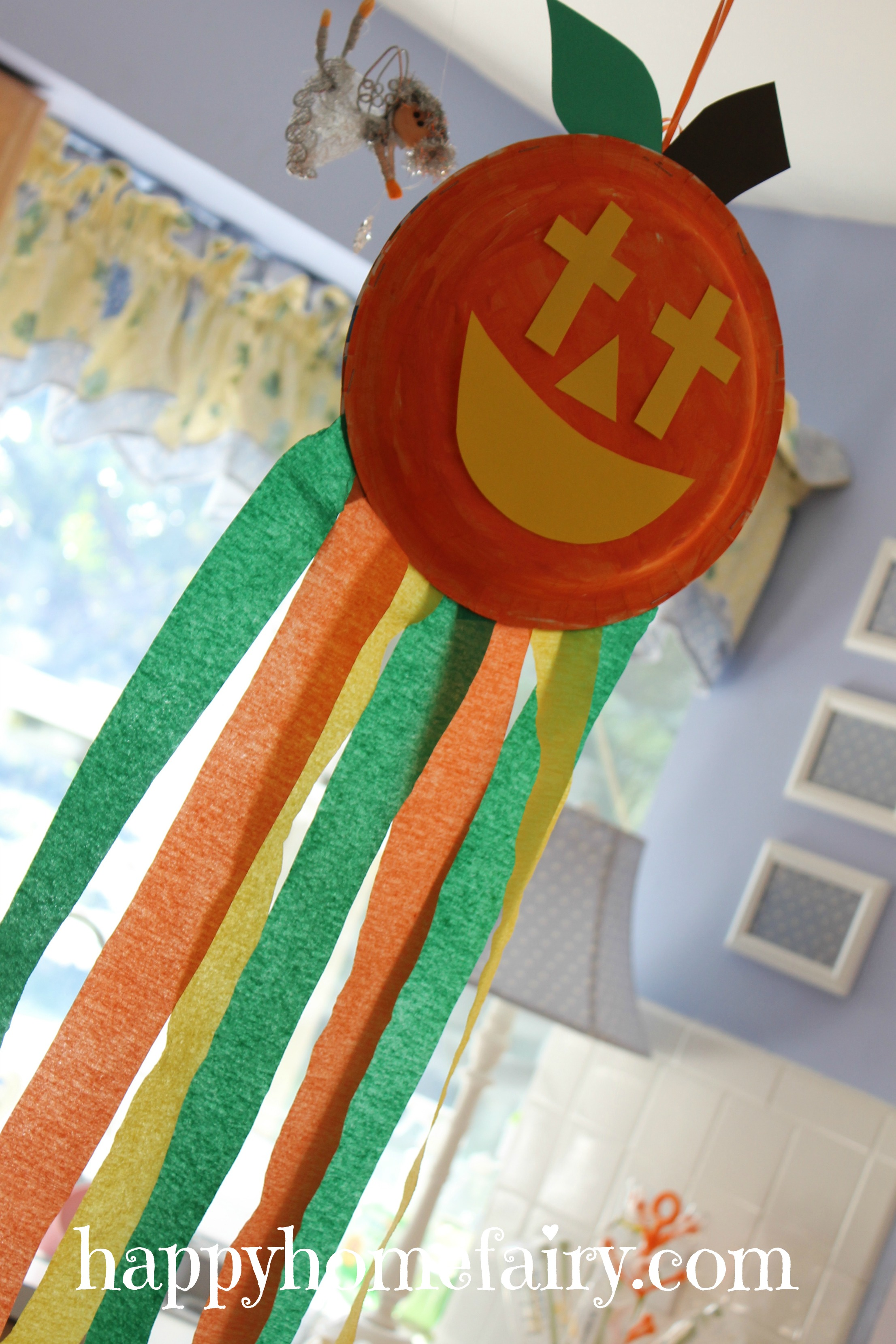 Green Magic Homes A Christian Pumpkin Windsock Craft - Free Printable