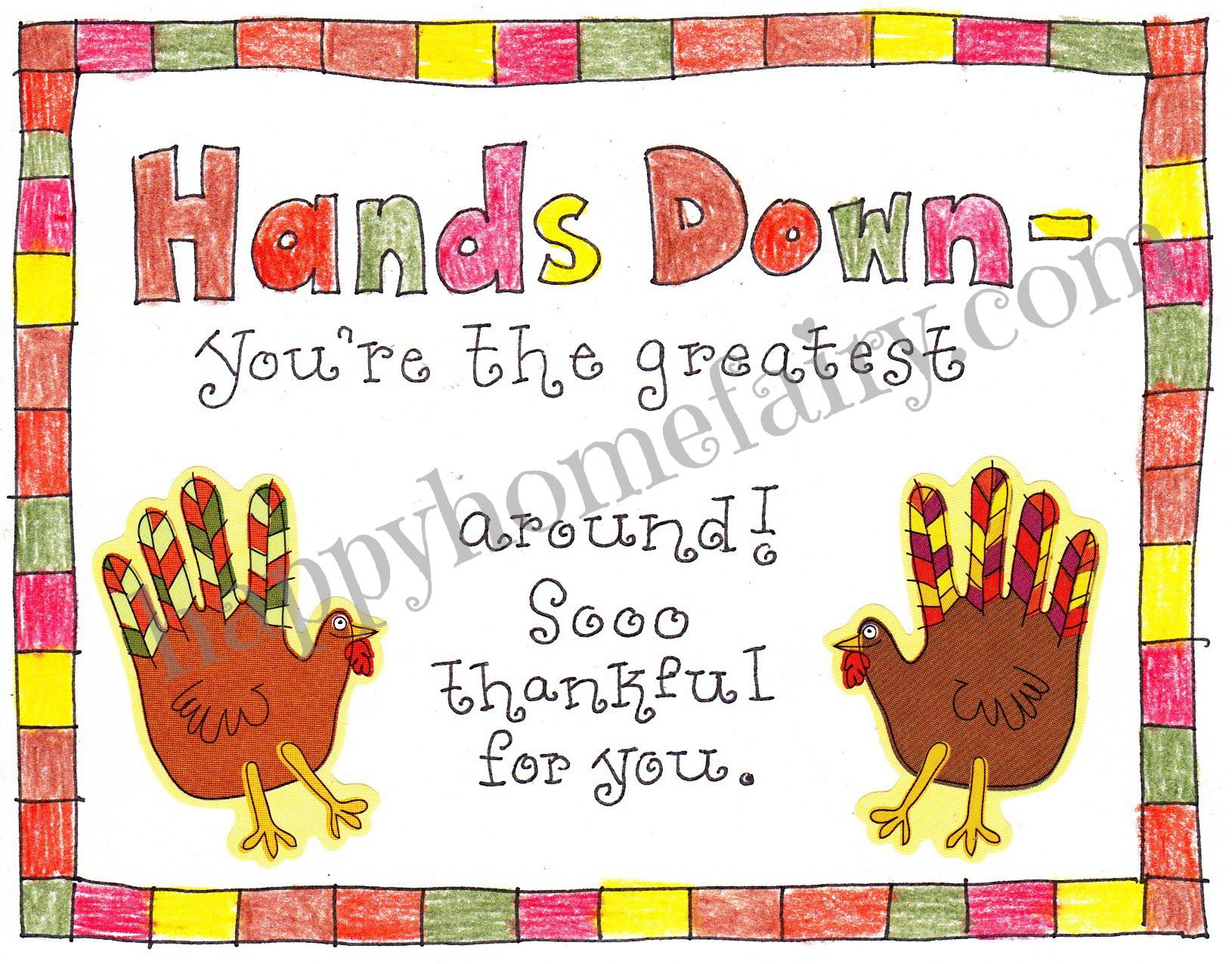 thankful handprint turkey craft free printable happy