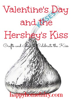 hershey's kiss crafts and printables for valentine's day