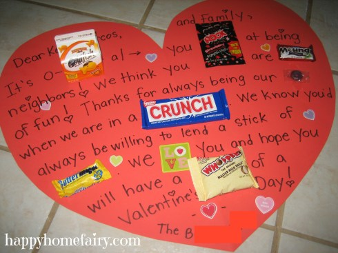 candy gram for the neighbors