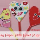 plate heart puppet at happyhomefairy.com pin