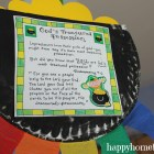 an inspirational st. pat's day windsock with poem