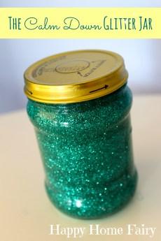 The Calm Down Glitter Jar