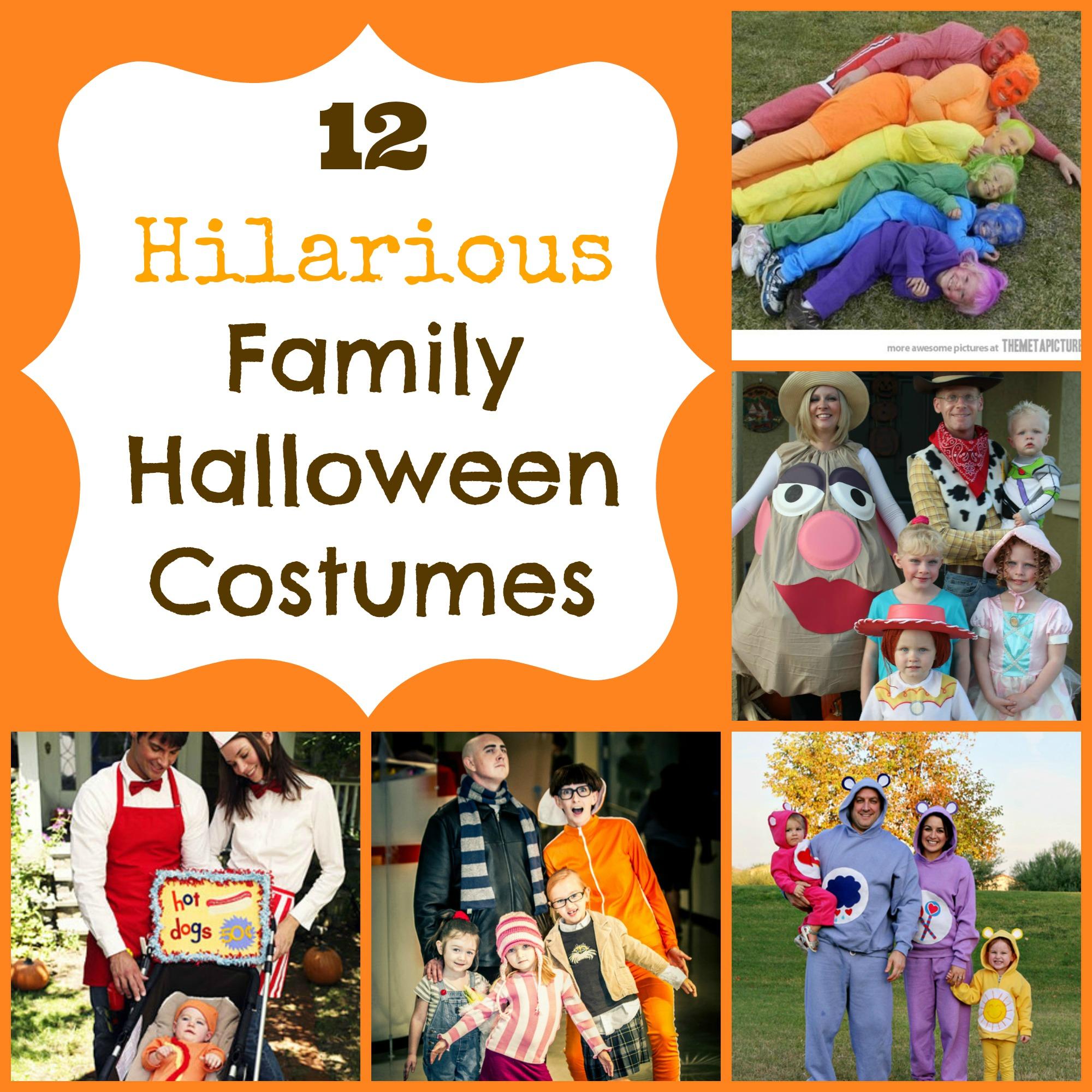 Fun halloween costume ideas for the family happy home fairy - Interesting halloween ideas home ...