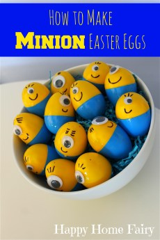How To Make Minion Easter Eggs
