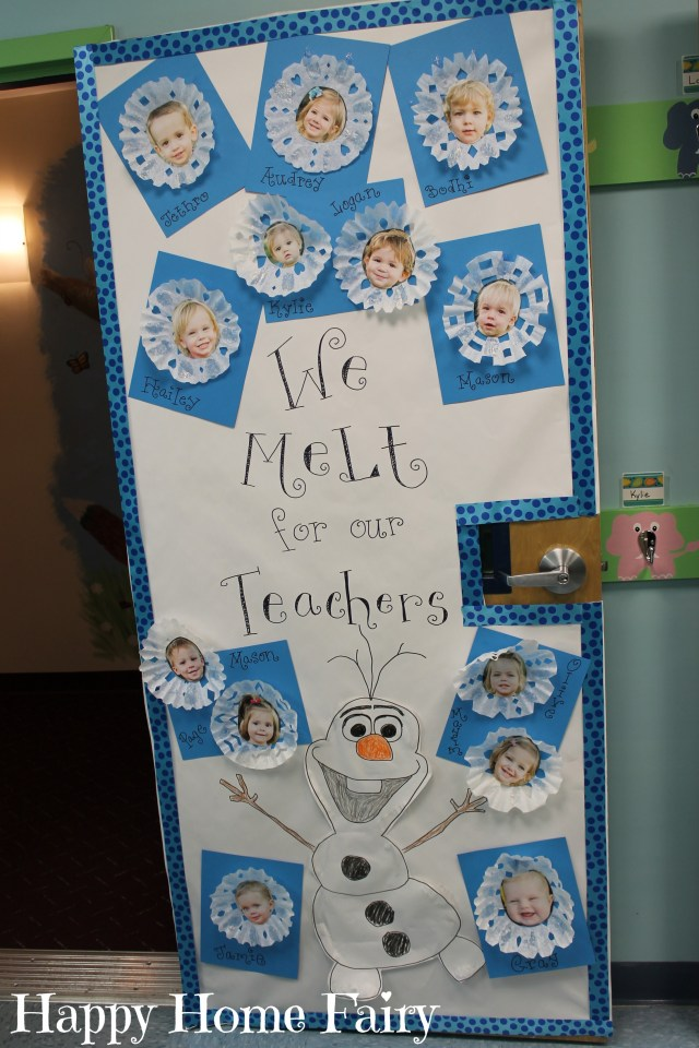 Adorable teacher appreciation door idea happy home fairy for Idea door primary 2014