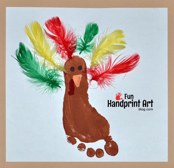 Turkey Feather Fun Happy Home Fairy