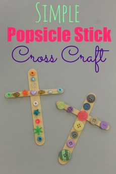 Simple Cross Craft
