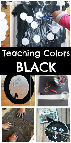 Teaching Colors – Black
