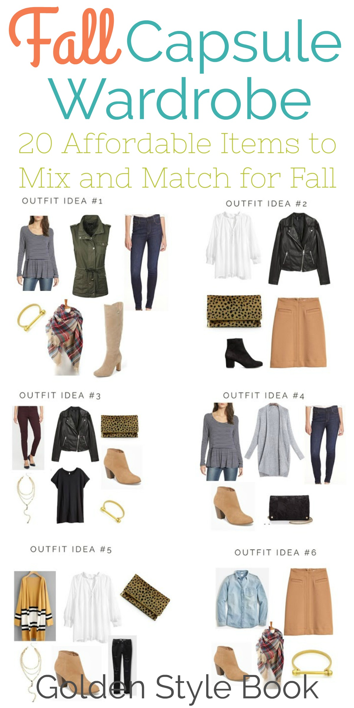 Mix And Match Mix And Match Capsule Wardrobe For Fall Happy Home Fairy
