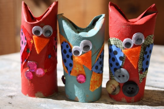 Easy Adorable Toilet Roll Owl Craft For Kids Happy