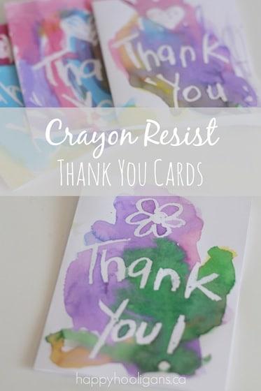 Wax Resist Valentines Cards - Happy Hooligans - valentine craftf