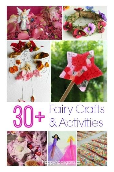 30+ Fairy Crafts and Activities - Happy Hooligans