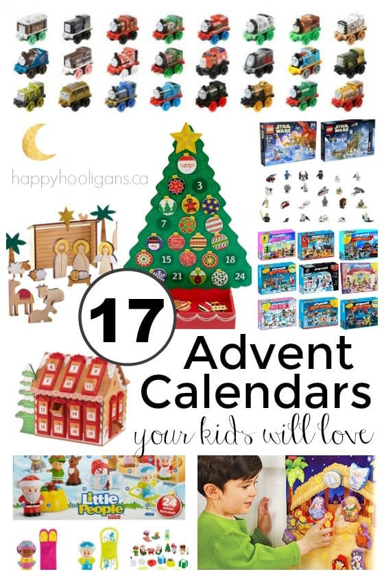 17+ Awesome Advent Calendars Your Kids Will LOVE! - Happy Hooligans