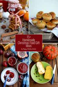 15+ Homemade Christmas Food Gift Ideas  Happy Kitchen.Rocks