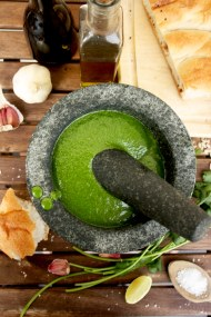 Mojo Verde: Canarian Green Sauce