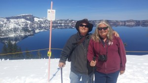 Mike & Linda at Crater Lake