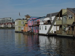 The Floating Home Village at Fisherman's Wharf