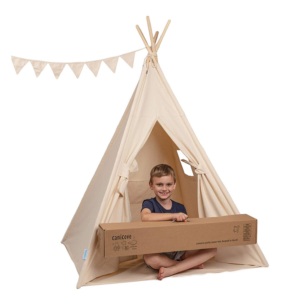 Teepee Kids Teepee Play Tent For Kids Happy Little Tadpole