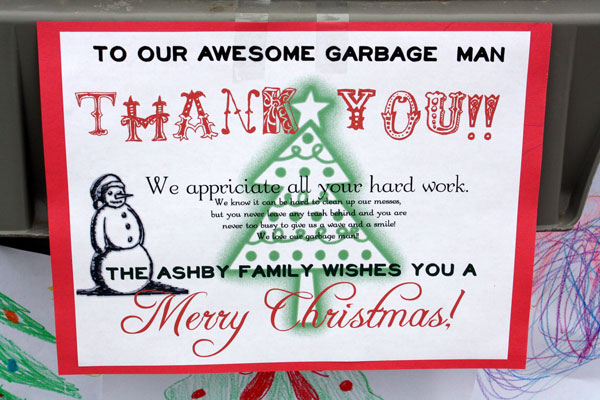 christmas thank you card printable