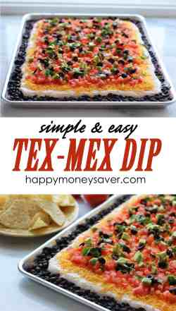 Genuine This Easy Tex Mex Dip Recipe Is Not Only Delicious But Ly Tex Mex Dip Recipe Tex Mex Recipes Auntic Tex Mex Recipes Slow Cooker