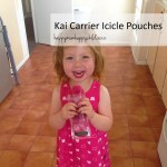 Kai Carrier Icicle Pouches by Happy Mum Happy Child