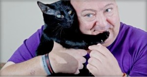 Rescue Black Cat Saves Human`s Life By Biting His Toes During Seizures