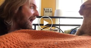Guy Gets his Revenge On His kitty Who Keeps Waking Him Up Every Night at 4am