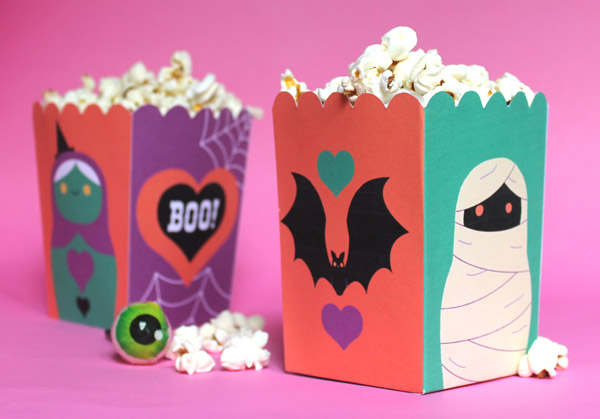 Spooky Halloween papercraft pack Easy Halloween party printables!