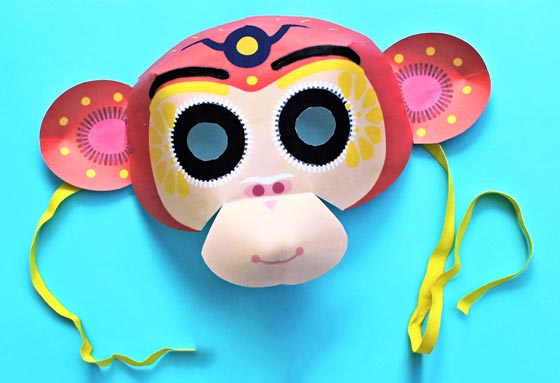 DIY - Free templates for members - 3D masks, activities + easy