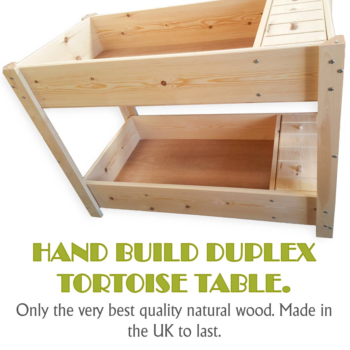 Wooden Tables For Sale Duplex Tortoise Table For Sale British Made In Natural Wood