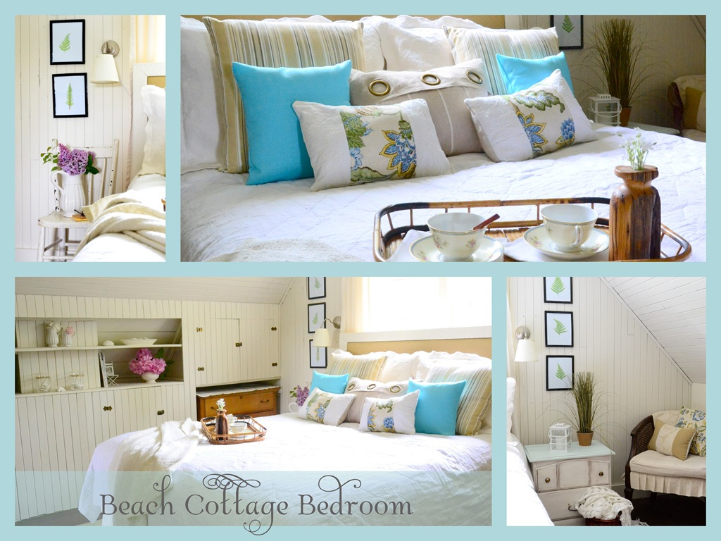 Ocean Inspired Decorating Beach Cottage Bedroom Reveal Harbour Breeze Home
