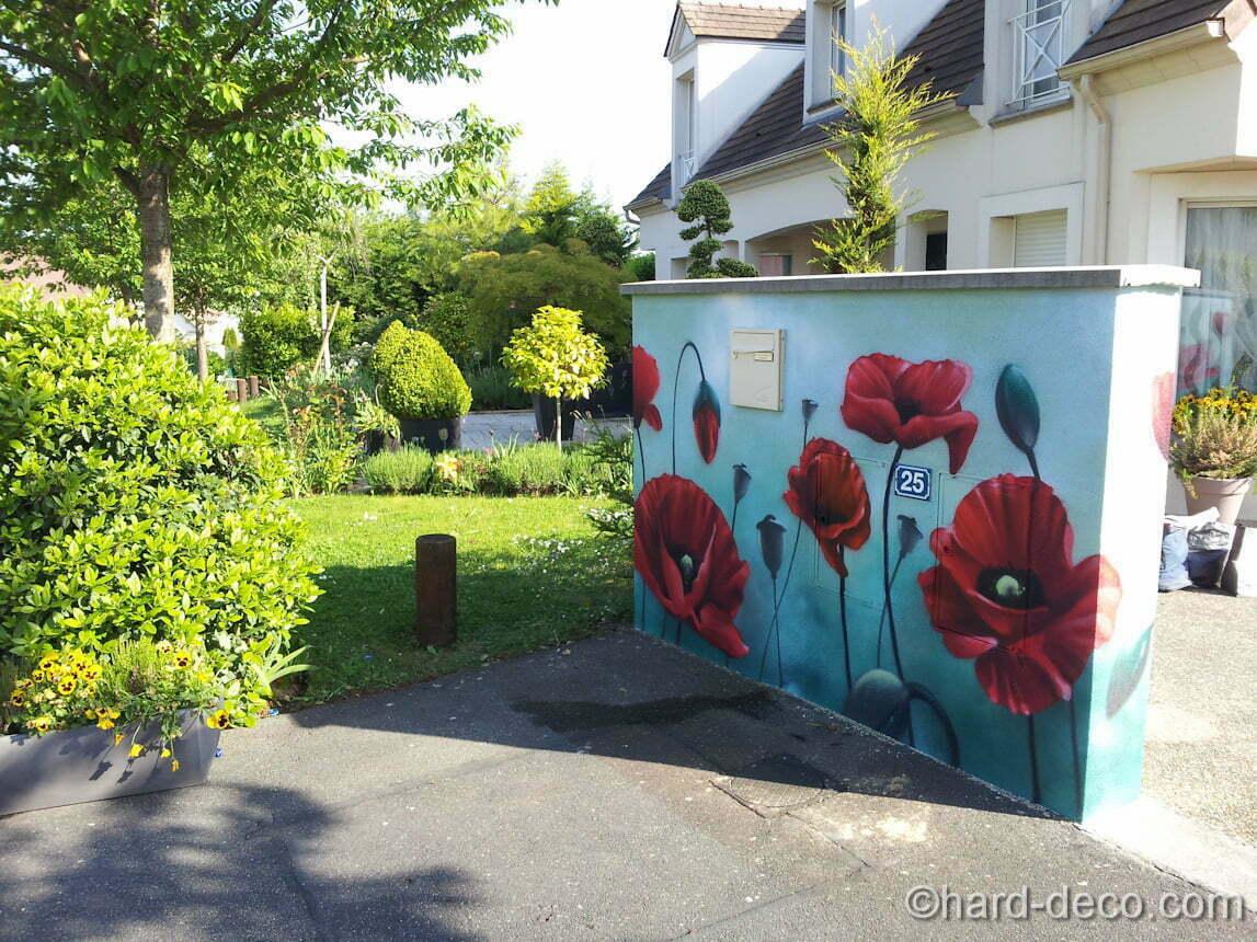 Déco Exterieur Mur | Deco Mur Imitation Pierre En Fausse Exterieur ...
